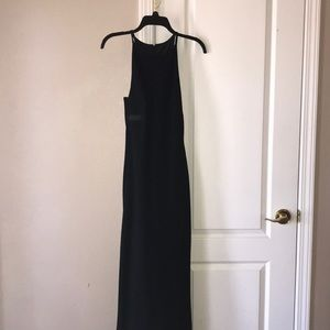long calvin klein formal dress